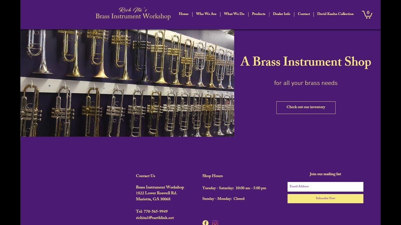 Download Rich Ita's Brass Workshop Trumpet Repair (Critical Review) 2021