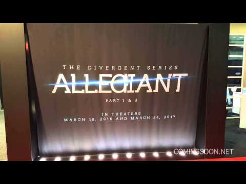 First Look at The Divergent Series: Allegiant Part 1 & 2
