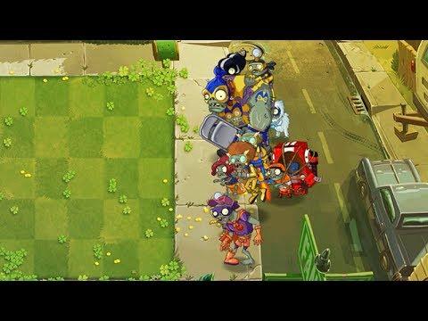 Plants Vs Zombies 2 Una Batalla Con Zombies Heroes