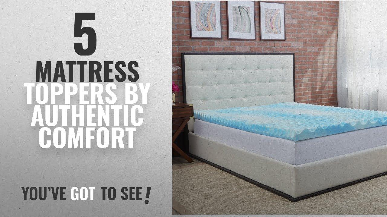 authentic comfort mattress topper Top 10 Authentic Comfort Mattress Toppers [2018]: Authentic  authentic comfort mattress topper