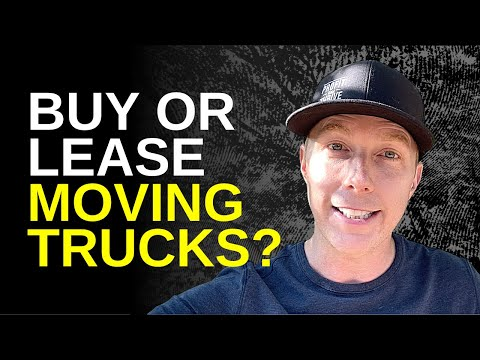 Buy or Lease Moving Trucks