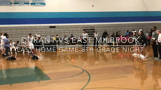 Carl Roberts- Last Middle School Home Game