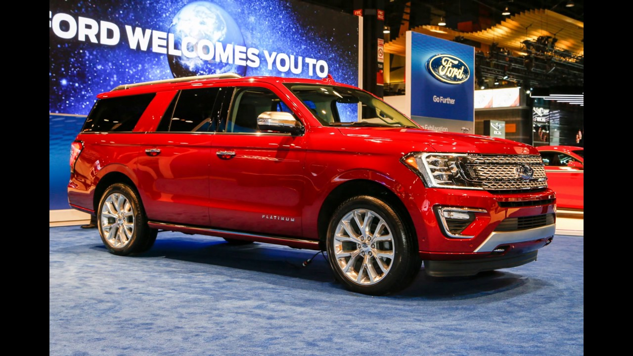 New 2018 ford expedition max price