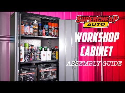 How to - Assemble A Cabinet // Supercheap Auto