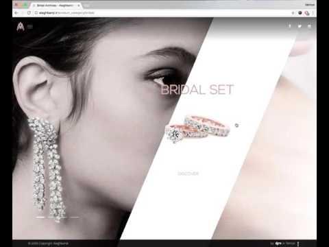 Alaghband(.ir) Jewerly Website Design
