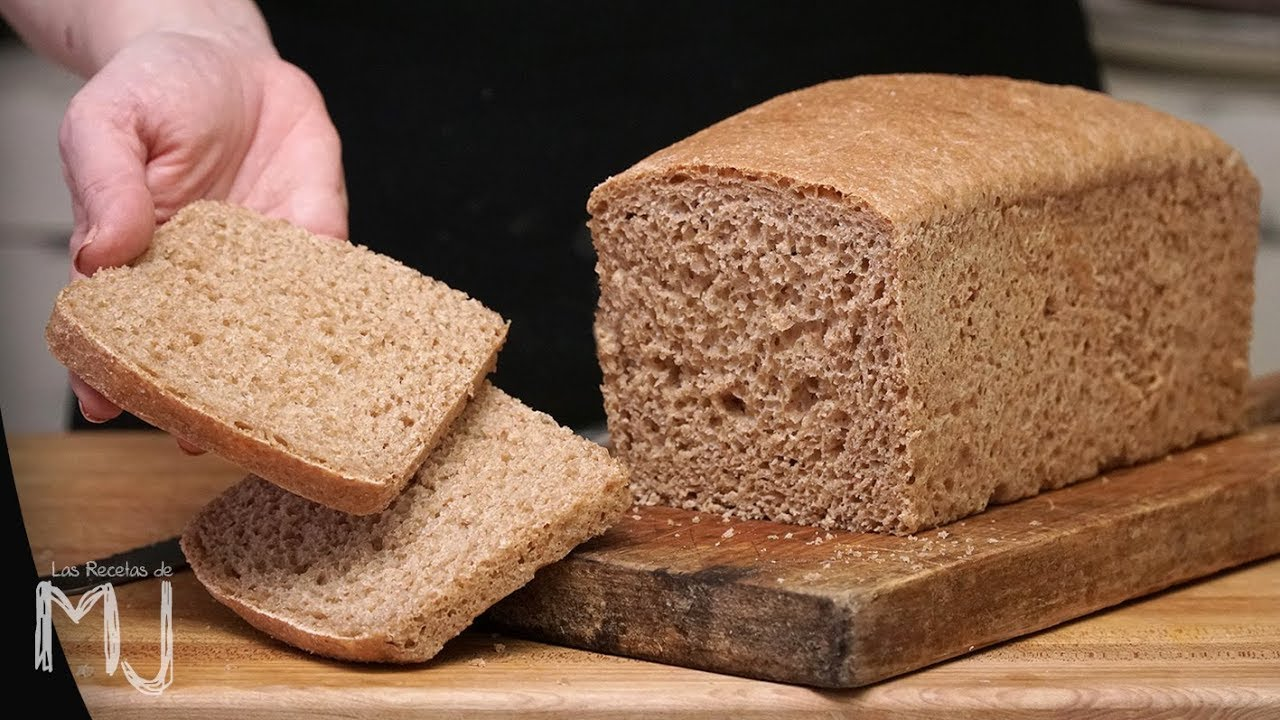 Hacer molde para integral pan de receta
