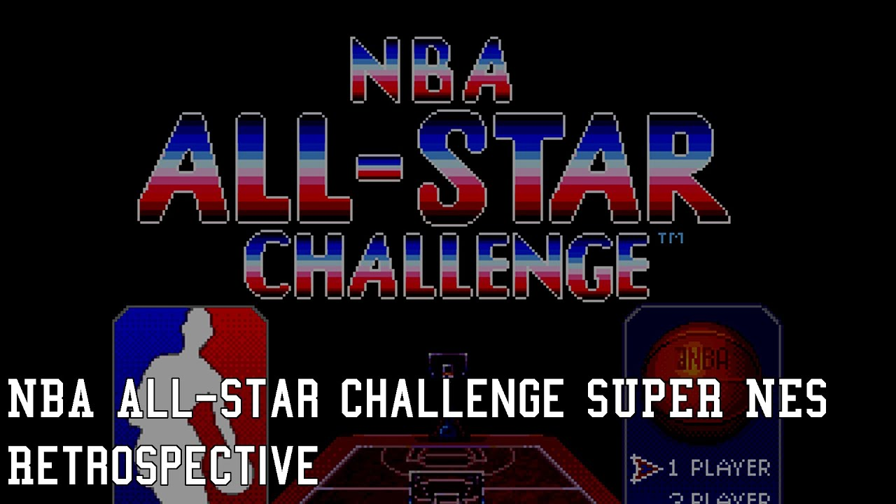 27b9ef06435 NBA All-Star Challenge Retrospective (Super NES) - NLSC Wayback Wednesday