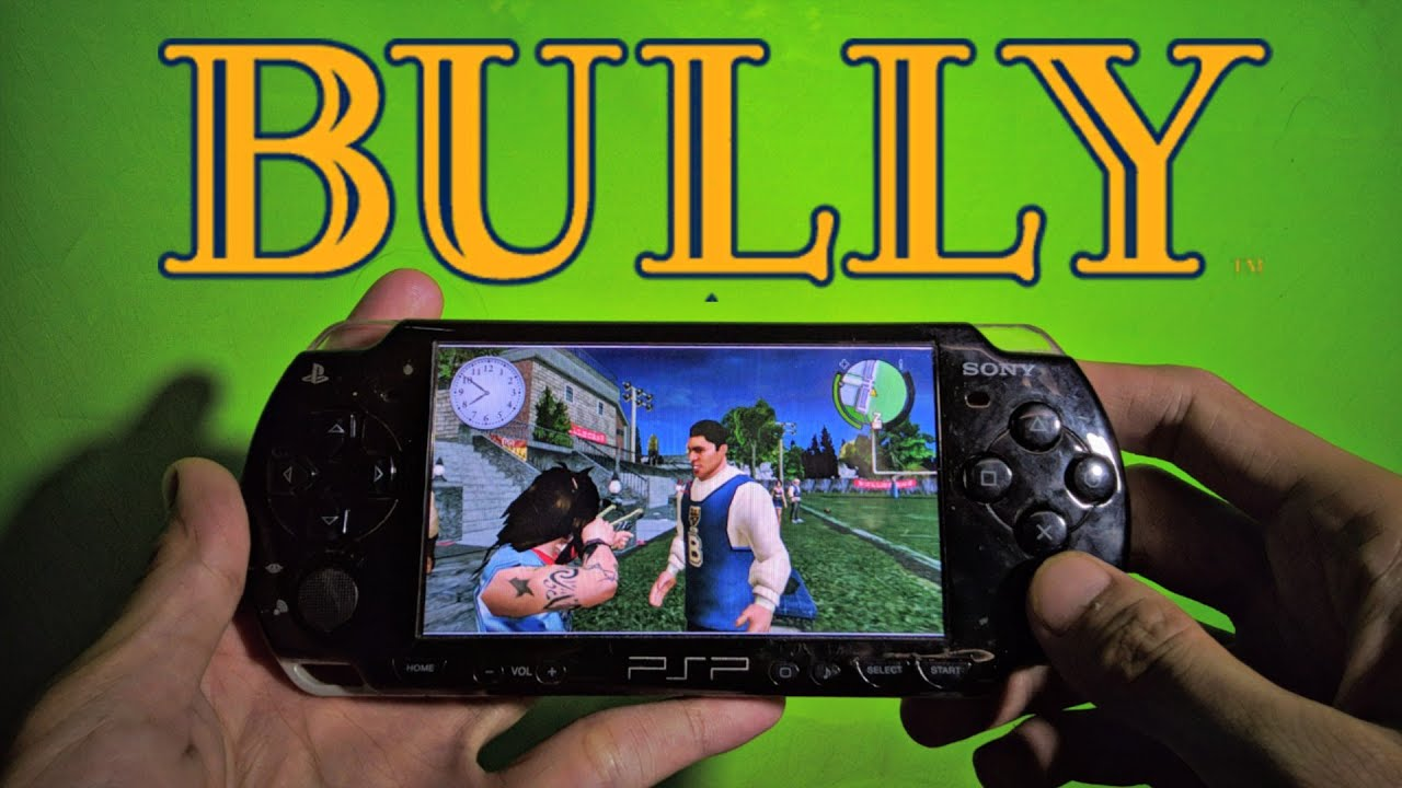 Bully PSP Gameplay (HD) - YouTube