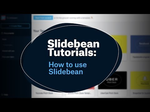 Slidebean Tutorials: How to use Slidebean
