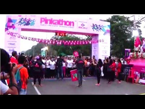 Pinkathon Kolkata 2017 (Part 2 of 3) | Only Women's Run For Health, Fitness & Brest Cancer Awareness