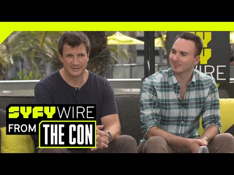 Uncharted's Nathan Fillion And Allan Ungar On Secrets Of Uncharted  Film  SDCC 2018  SYFY WIRE