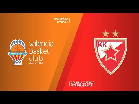 Valencia Basket - Crvena Zvezda mts Belgrade Highlights   Turkish Airlines EuroLeague RS Round 20