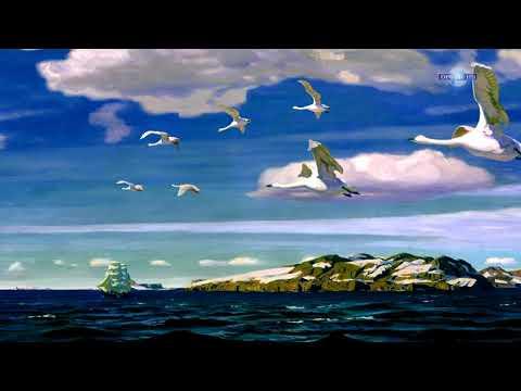 """Рылов - """"В голубом просторе"""" - Ожившая картина / 3D анимация"""