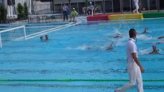 えひめ国体 水泳競技・水球(少年男子)/準決勝:石川県 vs 東京都(第1ピリオド)