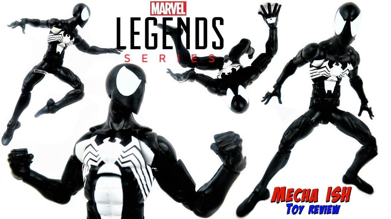 No Kingpin BAF Piece Marvel Legends Spider-Man Symbiote BLACK Costume In Stock