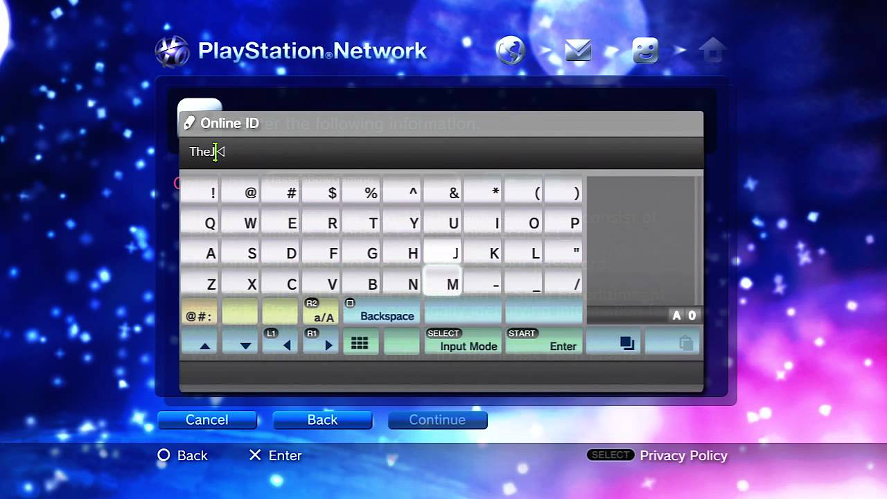 How To Make A Playstation Network Account W Jassen Ps3 Youtube