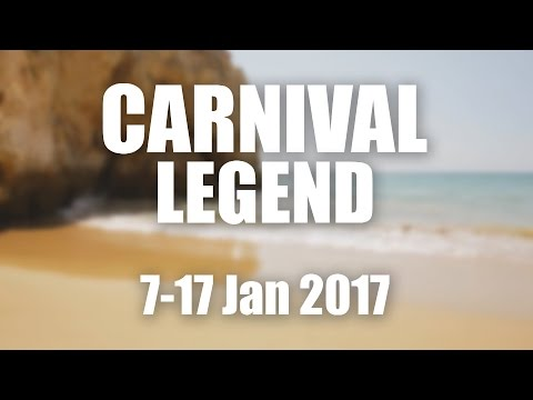 Carnival Legend Cruise - January 7 2017 (Sydney to NZ)