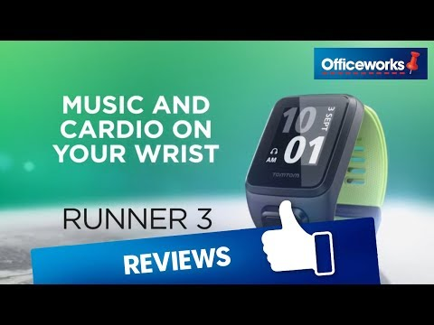 TomTom Runner 3 Cardio Activity Tracker