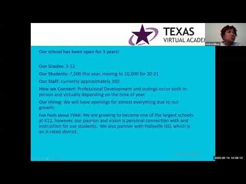 K12 Careers:Texas Virtual Academy at Hallsville Meet & Greet