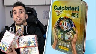 5 BOX CALCIATORI PANINI + TIN BOX CALCIOMERCATO!! | APERTURA BUSTINE ALBUM CALCIATORI PANINI 2018