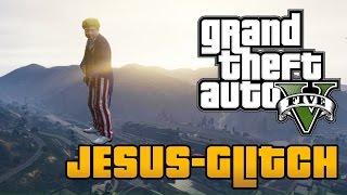 GTA 5 TIPPS - Über die Welt laufen (Jesus Glitch)