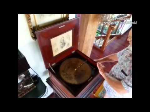 Regina Music Box - 1890's version of a CD Player