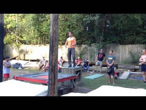 Ultimate Backyard Warrior - 2016 - Drew Drechsel - Stage 3