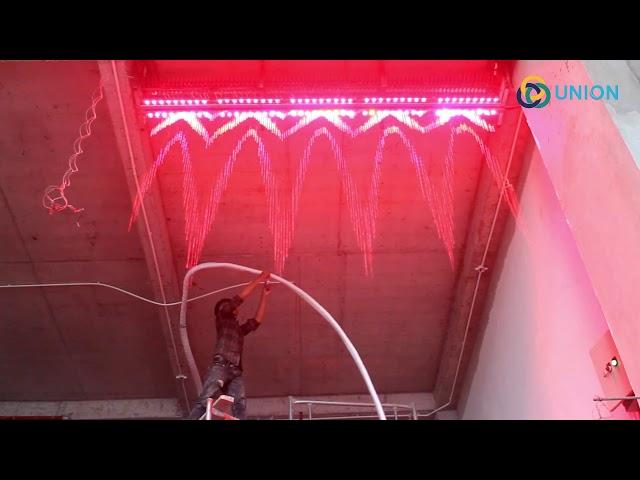 Màn nước nghệ thuật khách sạn PARIAT Đà Nãng | UNION JSCO