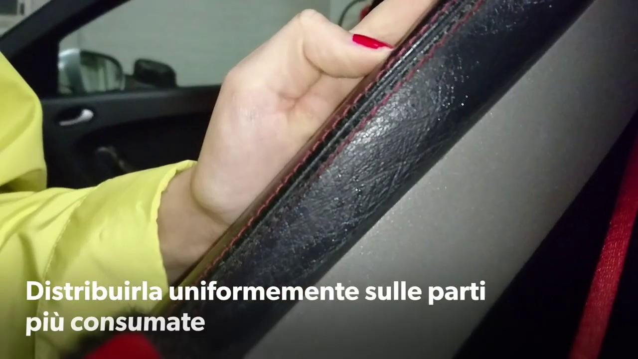 Rigenerare pelle sedili Mercedes (FAI DA TE)