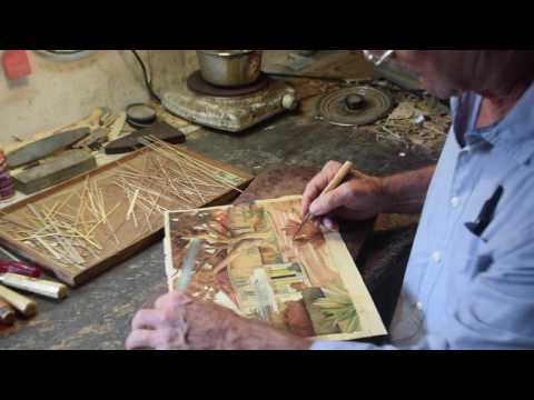 Artist Straub - Creating the world's best marquetry