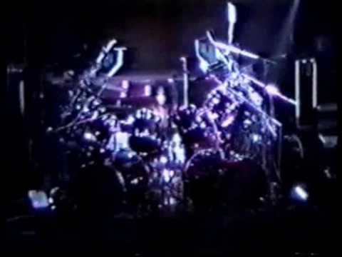 KISS - Eric Carr Drum Solo - Biloxi 1990 - Hot In The Shade Tour