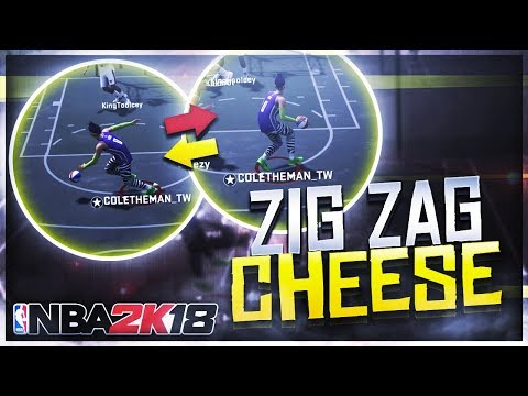 OVERPOWERED ZIG-ZAG DRIBBLE MOVE CHEESE! MY PURE SHOT CREATOR IS A GLITCH! 2K18 LEFT RIGHT EXPLOIT!