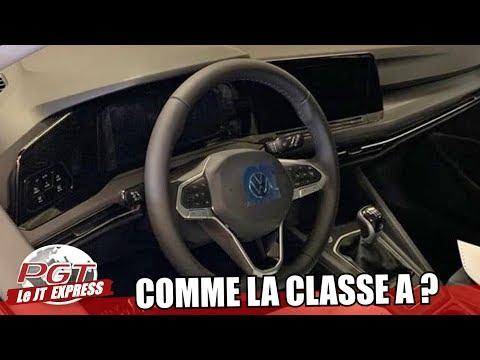 Golf 8 : Le Tableau de Bord Classe A ? (IMAGE) - PJT Express