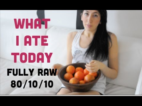 What I Eat Fully Raw 80/10/10