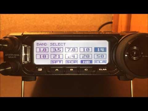 Yaesu FT-891 HF/50mhz radio review