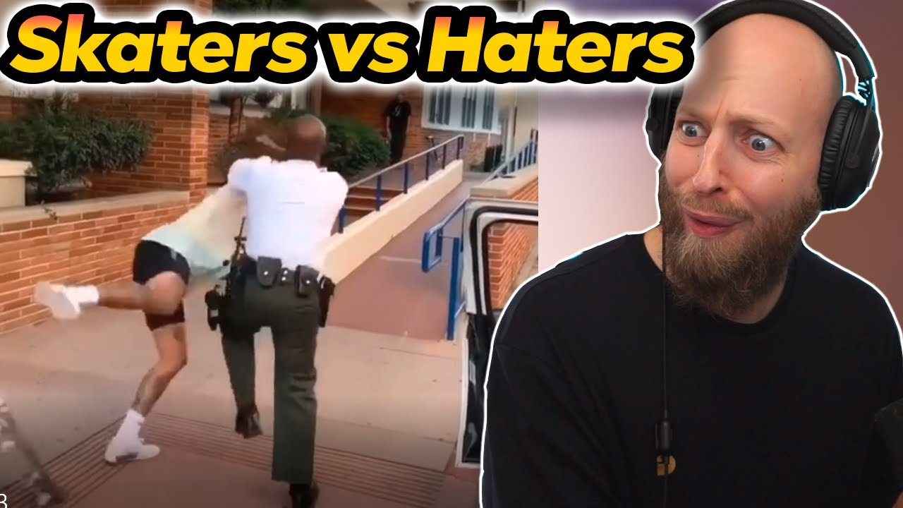 Johnni Gade ser: SKATERS vs HATERS