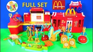 2018 McDONALD'S PETER RABBIT MOVIE HAPPY MEAL TOYS FULL SET USA - UK KIDS WORLD COLLECTION