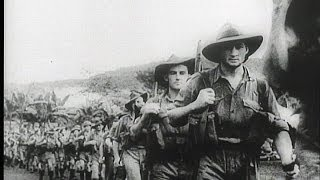 HD Historic Archival Stock Footage WWII - United Nations On The March - New Guinea 1942