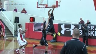 TreShaun Fletcher '13 Says Goodbye To San Diego with Dunk, 12/29/12
