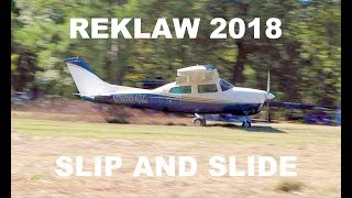 So many planes stuck in the mud! - Kitfox to Reklaw 2018