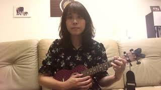 秦嵐、陸虎《雪落下的聲音-延禧攻略片尾曲》ukulele烏克彈唱版