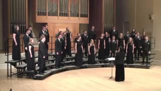 "University of Oregon Chamber Choir: ""Jenny Kiss"