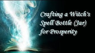 Crafting A Witch