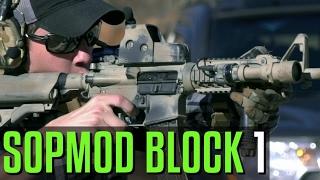 SOPMOD Block 1 Rifle - Run and Gun Action