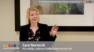 Sara Norrevik on the European Community Studies Association in Canada (ECSA-C)