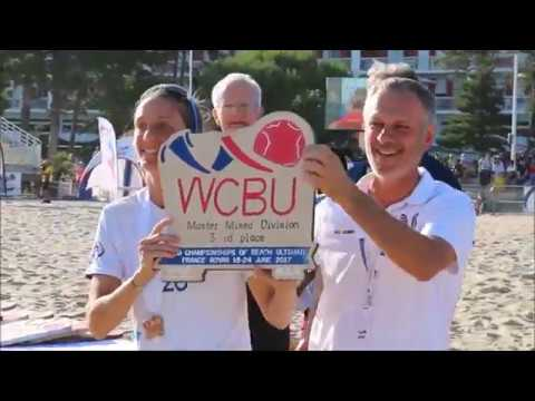 WCBU 2017 - French Beach Master Mixed - Medal Ceremony - Ultimate frisbee