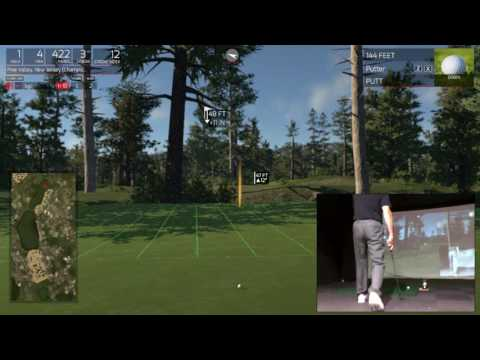 Hole #1 Pine Valley Golf Club - Our hole by hole guide on SkyTrak Golf Simulator