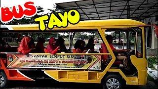 BUS TAYO BUS ANTAR JEMPUT PELAJAR | TAYO THE LITTLE BUS Cover Oklik