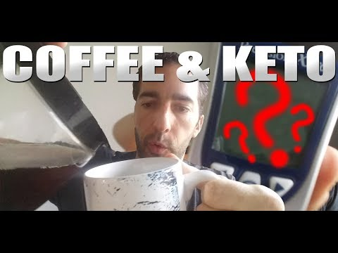 Coffee on Keto / Intermittent Fasting? ☕ Blood Glucose & Ketones  ⚠
