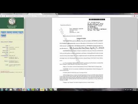 How To Do a Title Search in Palm Beach County